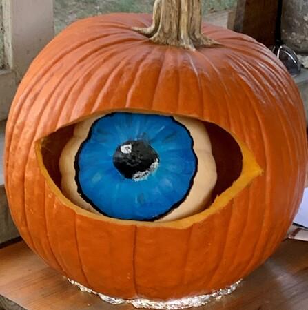 Pumpkin Eyeball